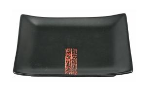 Talerzyk do sushi Black budget 17,5 x 12,5 cm