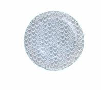 Talerz porcelanowy Tokyo design 20,6 cm, szary