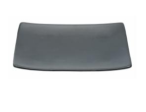Talerz do sushi 17,5 x 12,5 cm, czarny mat