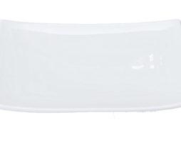 Talerz do sushi Shiro 22,5 x 13,5 cm, biały
