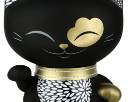 figurka mani kot czarny