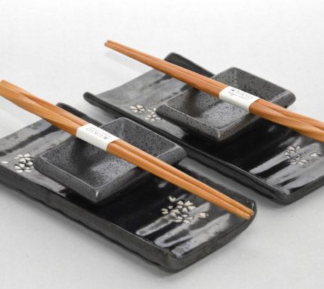 zestaw do sushi sakura grey DLA 2 OSÓB