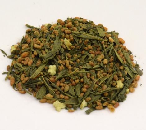 Herbata zielona z prażonym ryżem Genmaicha 100 g