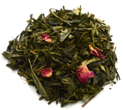 Herbata zielona Sencha wiśniowa premium 100 g