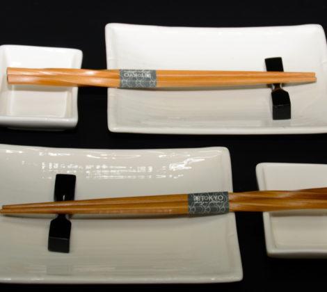 Zestaw do sushi Shiro dla 2 osób