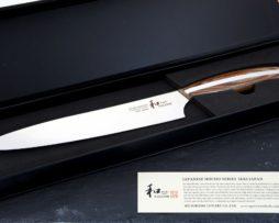 nagomi maru nóż do porcjowania 22 cm pudełko