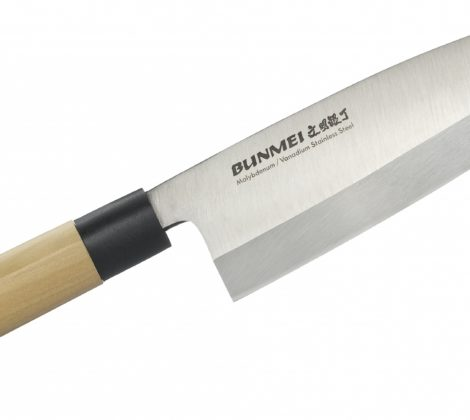 Nóż Bunmei Deba 19,5 cm