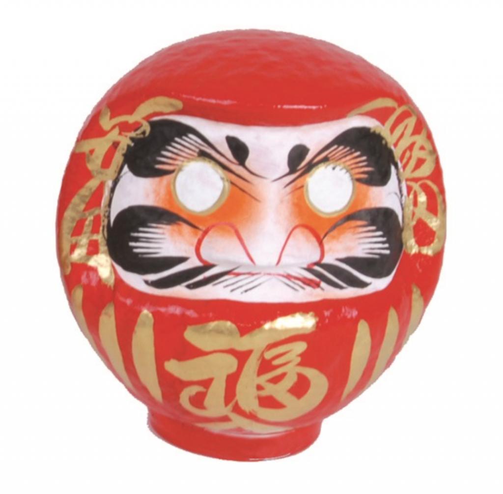 Daruma - figurka 16,5 cm.