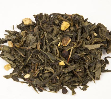 Herbata zielona Sencha imbirowa z pieprzem premium 100 g
