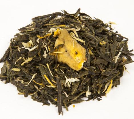 Herbata zielona Sencha z mango premium 100 g