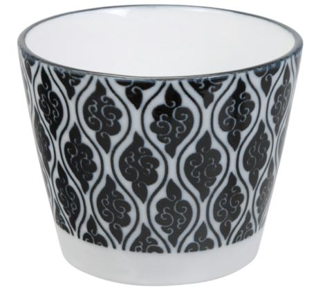 Czarka Orient 180 ml, biało - czarna