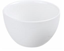 biała czarka porcelanowa