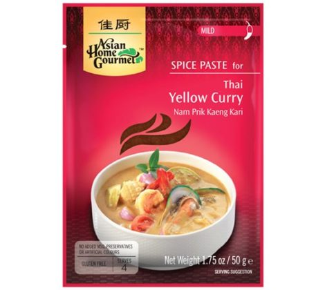 Pasta do tajskiej żółtej curry AHG 50 g