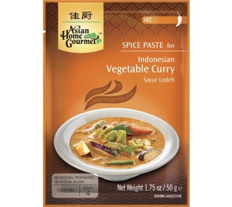 Pasta do indonezyjskiej potrawy curry z warzywami AHG 50 g