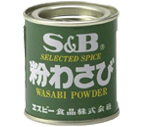 Chrzan wasabi w proszku S&B 30 g