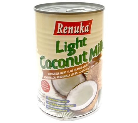 Mleko kokosowe light Renuka 400 ml