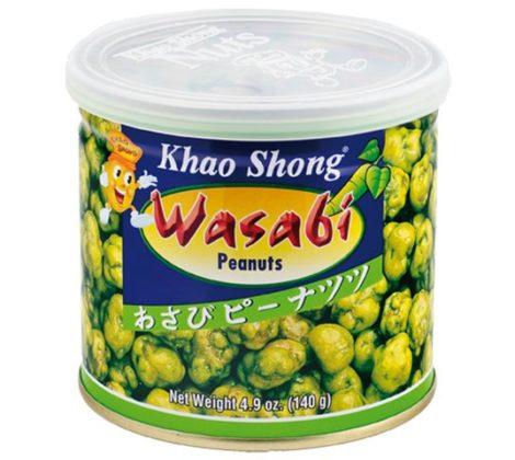 Orzeszki powlekane z wasabi Khao-s 140 g