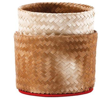 Pojemnik na ryż bambusowy 15 cm