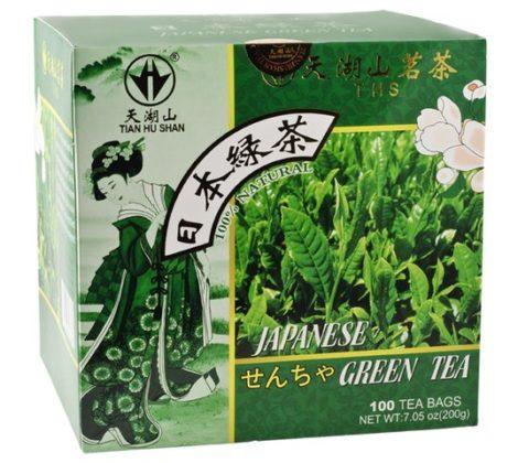 Herbata japońska zielona 200 g (100 torebek)
