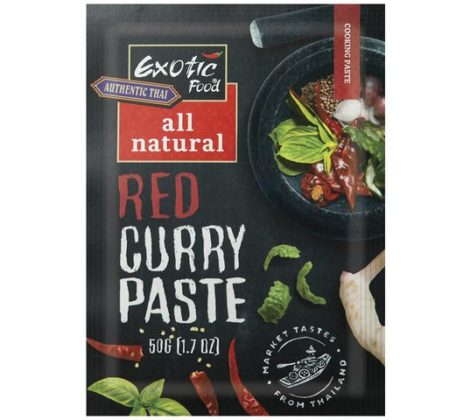 Pasta czerwone curry Exotic Food 50 g
