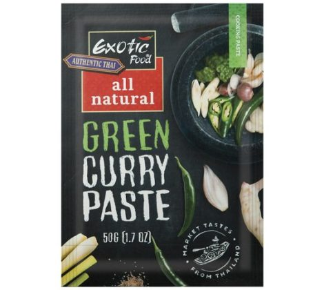 Pasta zielone curry Exotic Food 50 g