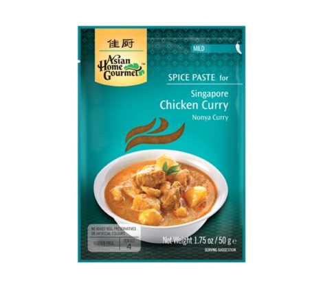 Pasta Singapure Chicken Curry AHG 50 g