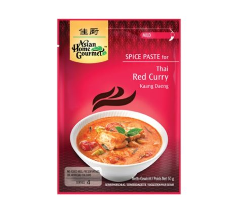 Pasta do czerwonego curry AHG 50 g
