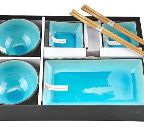 zestaw do sushi Tokyo blue dla 2 osób