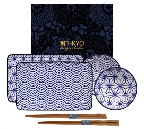 zestaw do sushi Nippon blue II dla 2 osób