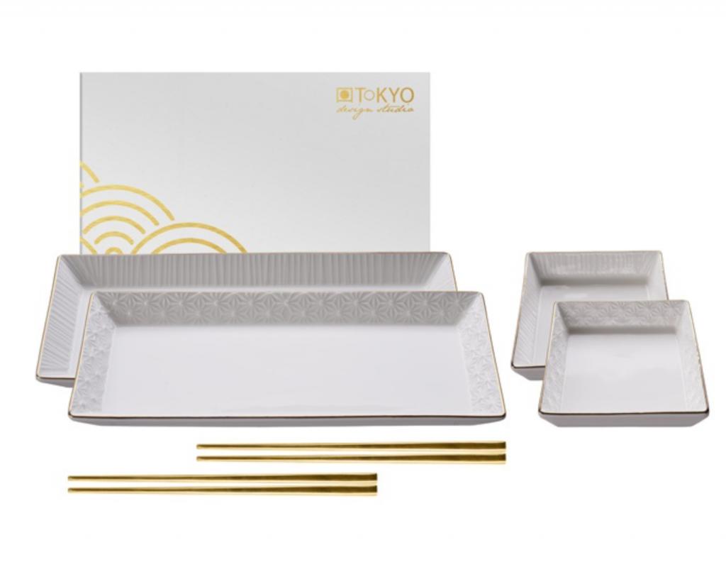 Zestaw do sushi White Gold dla dwóch osób